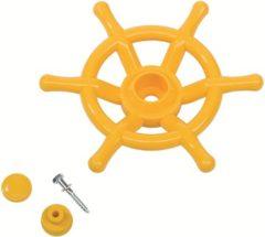 AXI Stuurwiel boot voor speelhuisje 35 cm geel
