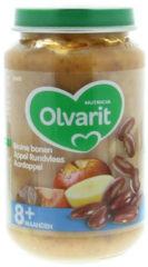 Olvarit Bruine bonen Appel Rundvlees Aardappel 8+ Maanden (1 Potje van 200g)