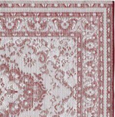 LOBERON Omkeerbaar tapijt Marsolan rood