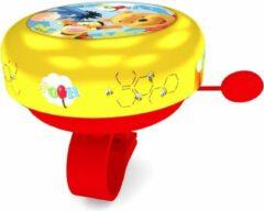 Disney Fietsbel Winnie De Poeh Junior 5,5 Cm Geel/rood