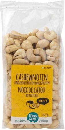 Afbeelding van Terrasana Cashewnoten roasted zonder zout 250 Gram