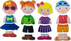 Nûby - Badspeelgoed - Aankleedset meisje in schuimrubber - 12m+