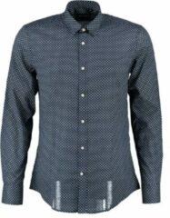 Antony morato blauw slim fit overhemd - Maat S