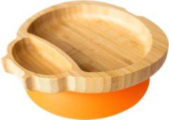 Eco Rascals Bamboe Lieveheersbeest Bord - Oranje