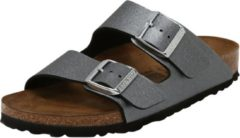 Antraciet-grijze Birkenstock Arizona Icy Metallic Anthracite narrow Icy Metallic - Maat 42