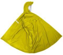 Point Regenponcho gelb, Gr. L mit integrierter Gürteltasche