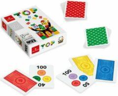 Dal Negro kaartspel Top 6,3 x 8,8 cm karton wit 110 stuks