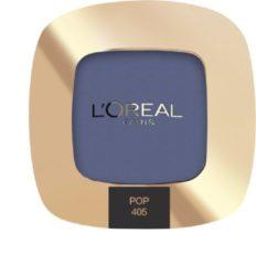 Blauwe L'Oréal Paris L'Oréal Paris Color Riche L'Ombre Pure Mono - 405 The Big Blue - Oogschaduw