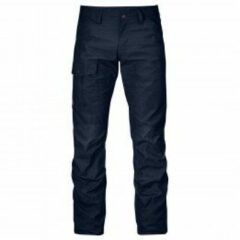 Fjällräven - Nils Trousers - Jeans maat 44 - Long - Raw Length, zwart
