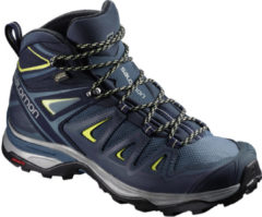 Salomon X Ultra 3 Mid GTX Women Damen Wanderstiefel Größe UK 5,5 crown blue/evening blue/sunny lime