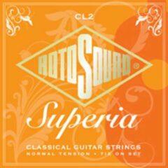 Rotosound K-Git. snaren CL2 Superia zilverwound, Normal