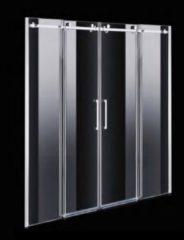 Nisdeur Boss & Wessing D&R Design 2 Roldeuren RVS (3 maten)