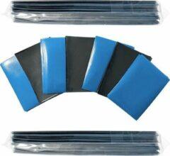 GottaGets Speelkaartsleeves – Card sleeves – 100 st. – 66x91mm – Blauw – Magic The Gathering – Yu-Gi-Oh - Pokémon