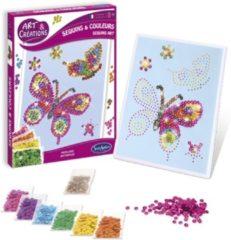 SentoSphère SentoSphere Sequins & Colours - Papillons Knutselset voor kinderen