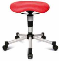 Rode TopStar Zadelkruk Body Balance 20 - in 6 kleuren