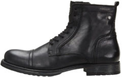 JACK & JONES Side Zipper Boots Men Black