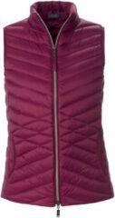Donzen bodywarmer met staande kraag Van MYBC roze