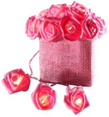 LED-Lichterkette Rosen im Korb Star rose