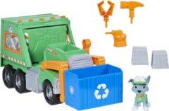 Groene Spin Master PAW Patrol - Rockys Re Use it Truck Rocky