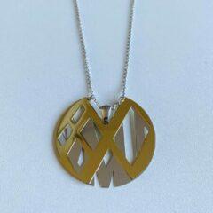 Gouden Petit collection Collier Art