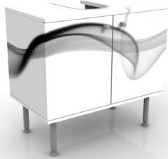 PPS. Imaging Waschbeckenunterschrank - Floater - Badschrank Weiß