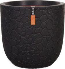 Capi europe Capi Nature Clay pot 35x34cm bloempot zwart