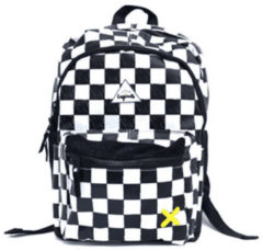 Little Legends Schooltas Backpack Large Checkerboard Zwart
