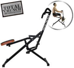 Zwarte Orange Care Total Crunch - Multifunctioneel Cardio Fitness Apparaat