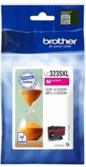 Paarse Brother LC-3235M XL inkt cartridge magenta hoge capaciteit (origineel)