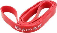 Rode Kaytan Elastische Weerstandsband 35KG - Fitness Elastiek - Gymnastiek Band - Resistance Band