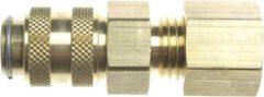 Gimeg Snelkoppeling Insteek X - overige gasfittingmateriaal - bruin