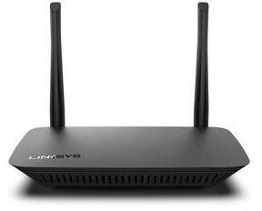 Afbeelding van Linksys E5400 draadloze router Dual-band (2.4 GHz / 5 GHz) Gigabit Ethernet Zwart