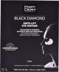 Zwarte Anti-Rimpel Pleisters voor Ooggebied Black Diamond Martiderm (4 pcs)