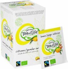 Tea of Life Organic - Lemon Ginger - 20 x 1,5gr
