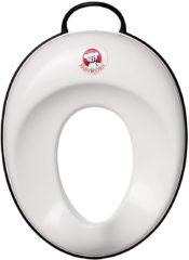 Wc-bril-verkleiner toilettrainer BABYBJÖRN wit-zacht grijs UITVERKOOP