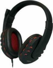 Zwarte LogiLink Stereo High Quality Headset USB