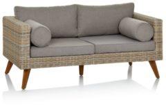 Outdoor-Sofa IMPRESSIONEN living grau