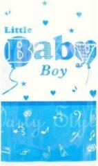 Stemen Tafelkleed blauw wit Baby Boy 132 cm x 220 cm
