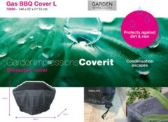 Garden Impressions - Coverit Gas BBQ hoes L 148/70x62xH110 (70898)