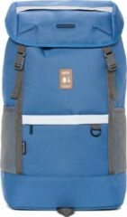 Lefrik Everest Laptop Rugzak - Eco Friendly - Recycled Materiaal - 15,6 inch - Blauw