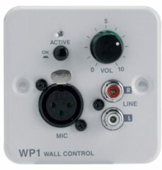 Audiophony WP-1 controller voor ZONEAMP4120 of PREZONE444 - wandmontage