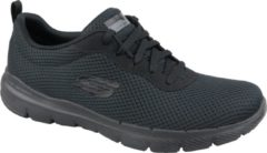 Zwarte Skechers Flex Appeal 3.0-First Insight Dames Sneakers - Black/Black - Maat 36