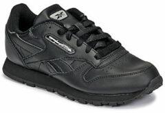 Reebok Classic Leather Jr EH1962, Kinderen, Zwart, Skate Sneakers, maat: 36,5 EU