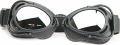 CRG radical motorbril mat zwart - zilver reflectie | bril voor motor