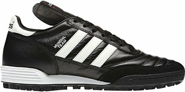 Afbeelding van Witte Adidas adidas Mundial Team Voetbalschoenen - Maat 36 2/3 - Mannen - zwart/wit