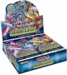 Yu-Gi-Oh! Konami Yu-Gi-Oh! TCG Genesis Impact Booster Box Display 1st Edition - Engelse Versie - 24 Booster Packs Per box - YuGiOh kaarten YGO Trading Card Game Boosters Verzamelen TOPCADEAUS topcadeau