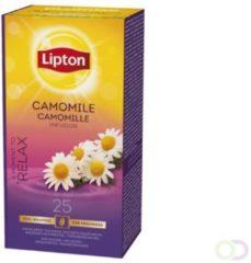 Thee Lipton Camomile met envelop 25stuks