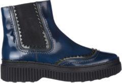 Blue Tod's Stivaletti stivali donna in pelle