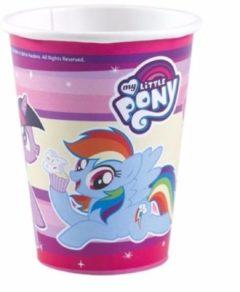 My Little Pony bekers 8 stuks - 250 ml - wegwerpbekertjes