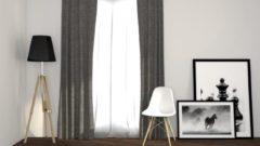 Larson - Luxe Geweven Blackout Gordijn - Ringen - Grijs - 150 x 250 cm – Verduisterend & kant en klaar